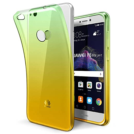 8 opinioni per Custodia Huawei P8 Lite 2017, SLEO [Multicolore] Cover Huawei P8 Lite 2017,