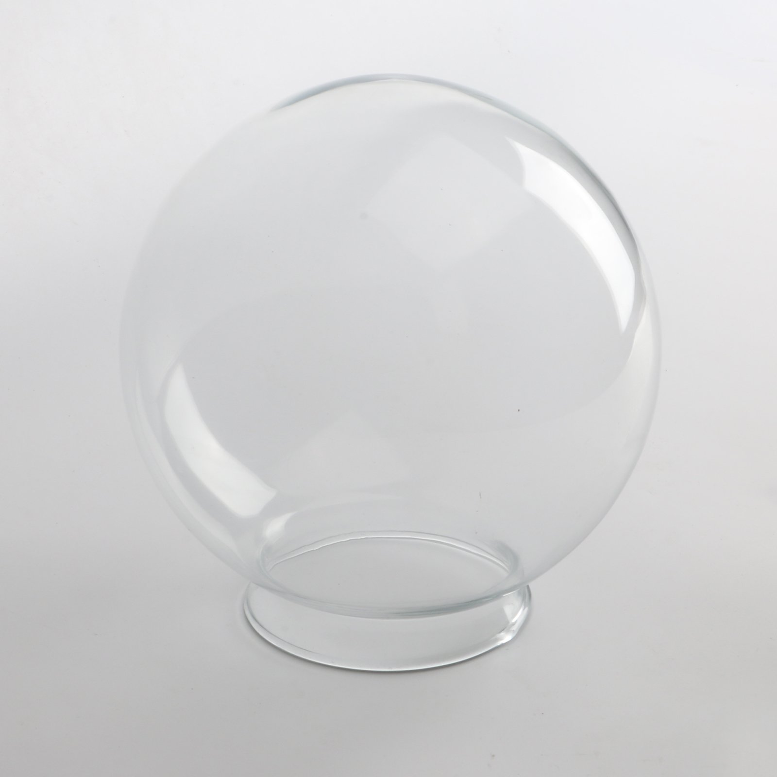 Details about permo lighting fixture replacement 5 9 round globe clear glass shade