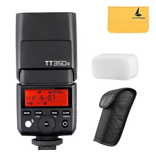 2 opinioni per Godox tt350s Mini Flash TTL HSS 1/8000s 2,4G senza fili per Sony mirrorless