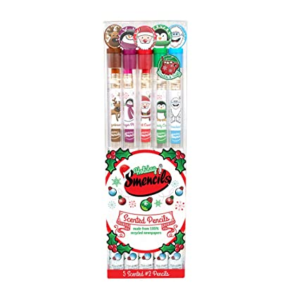 a29a90b82 Scentco Holiday Smencils 5-Pack of no. 2 HB Scented Pencils