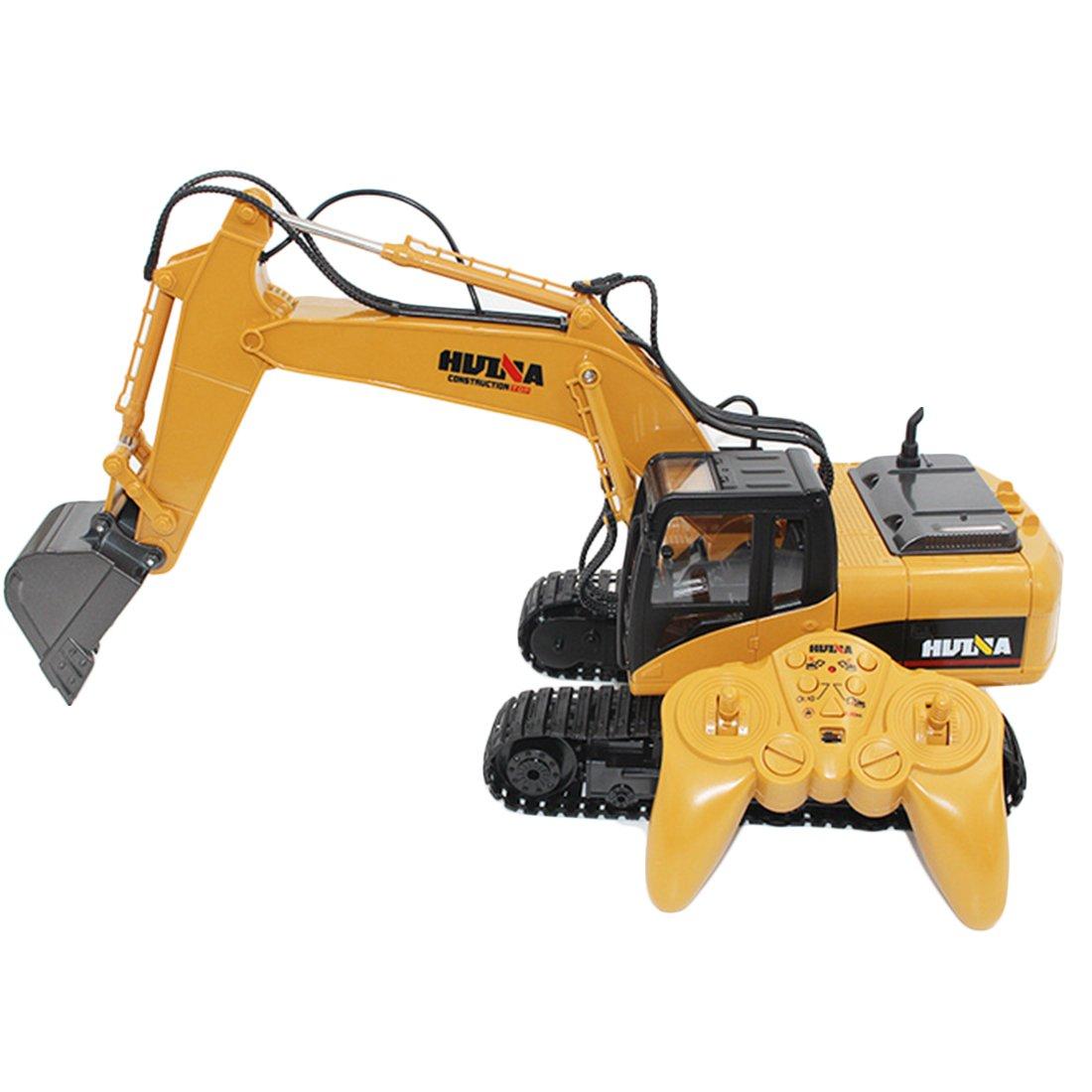 LoKauf 1:14 15CH Navvy mit Fernbedienung Excavator RC Bagger Metall Ferngesteuert für Kinder