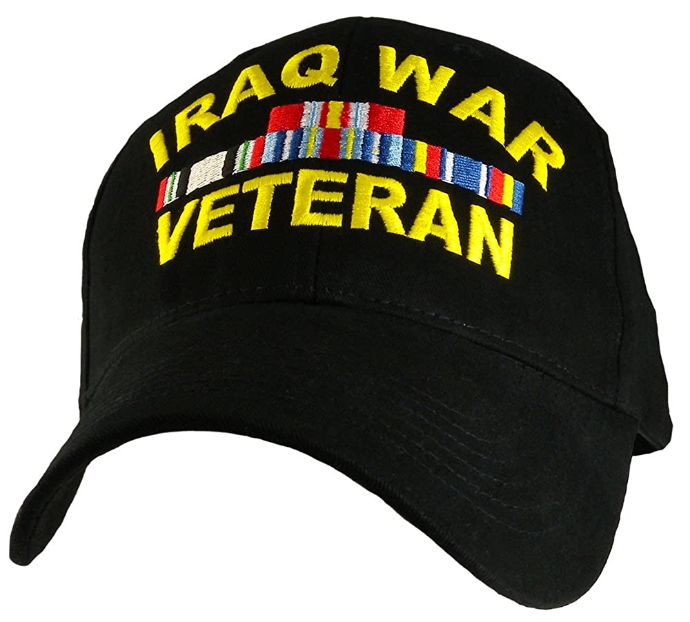 922ab11e299 Amazon.com  Iraq War Veteran Hat Military Caps for Men Women Military  Collectibles Gifts  Clothing