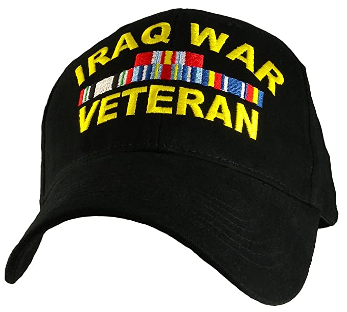 631643b8659 Image Unavailable. Image not available for. Color  Iraq War Veteran Hat  Military ...