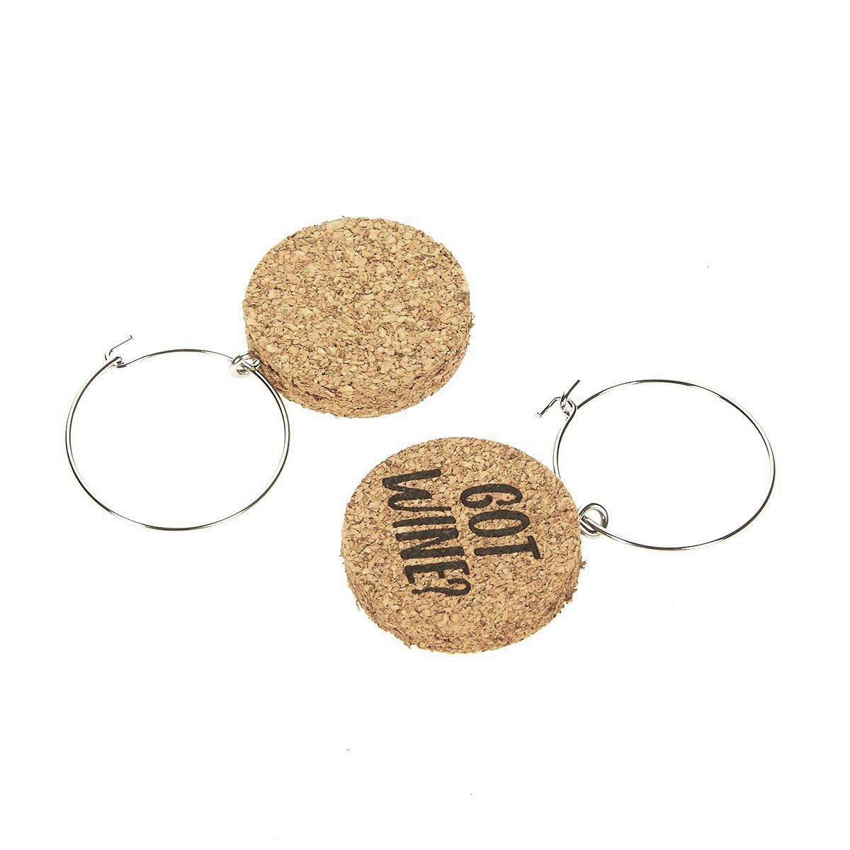 Wine Glass Charms - 12-Piece Wine Charm Drink Markers - Natural Cork Wine Lover Themed Wine Glass Tags Decorations for Parties, Gatherings, Reunions - 1 x 0.19 inches by Juvale (Image #6)