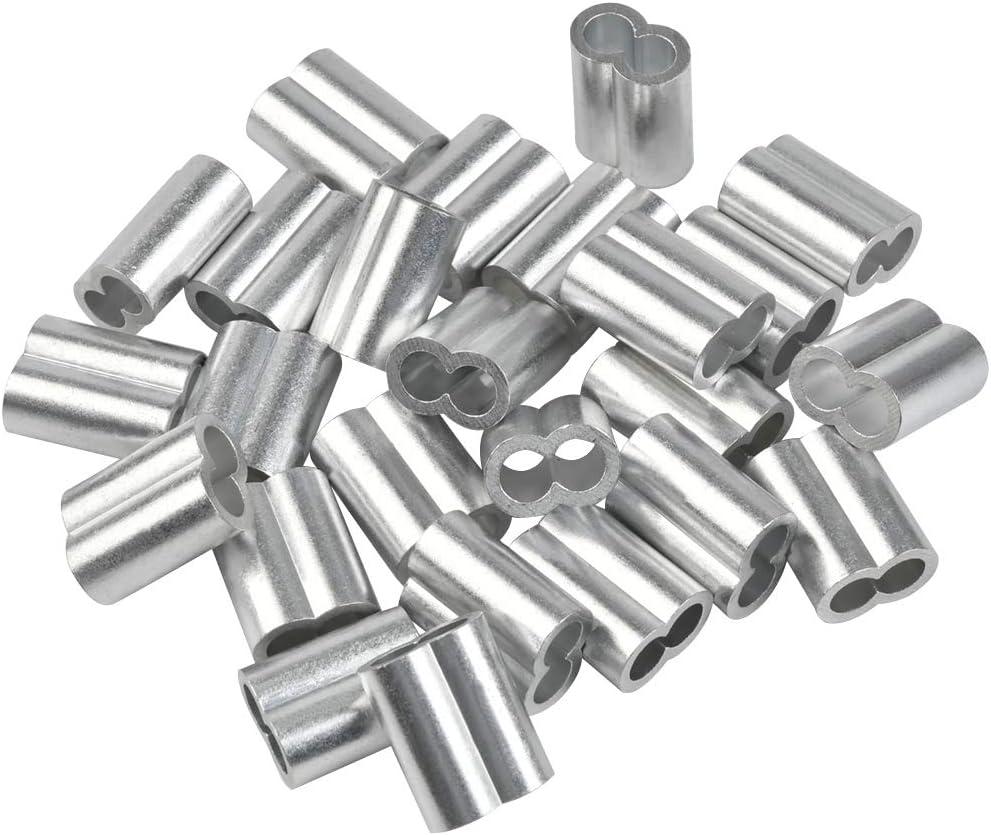 Carrfan 1 Paio di Morsetti da 25-32 mm per Staffa di Montaggio in Lega di Alluminio per Moto