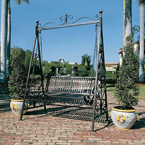 Rockaway Garden Swing - Design Toscano Rockaway Garden Swing
