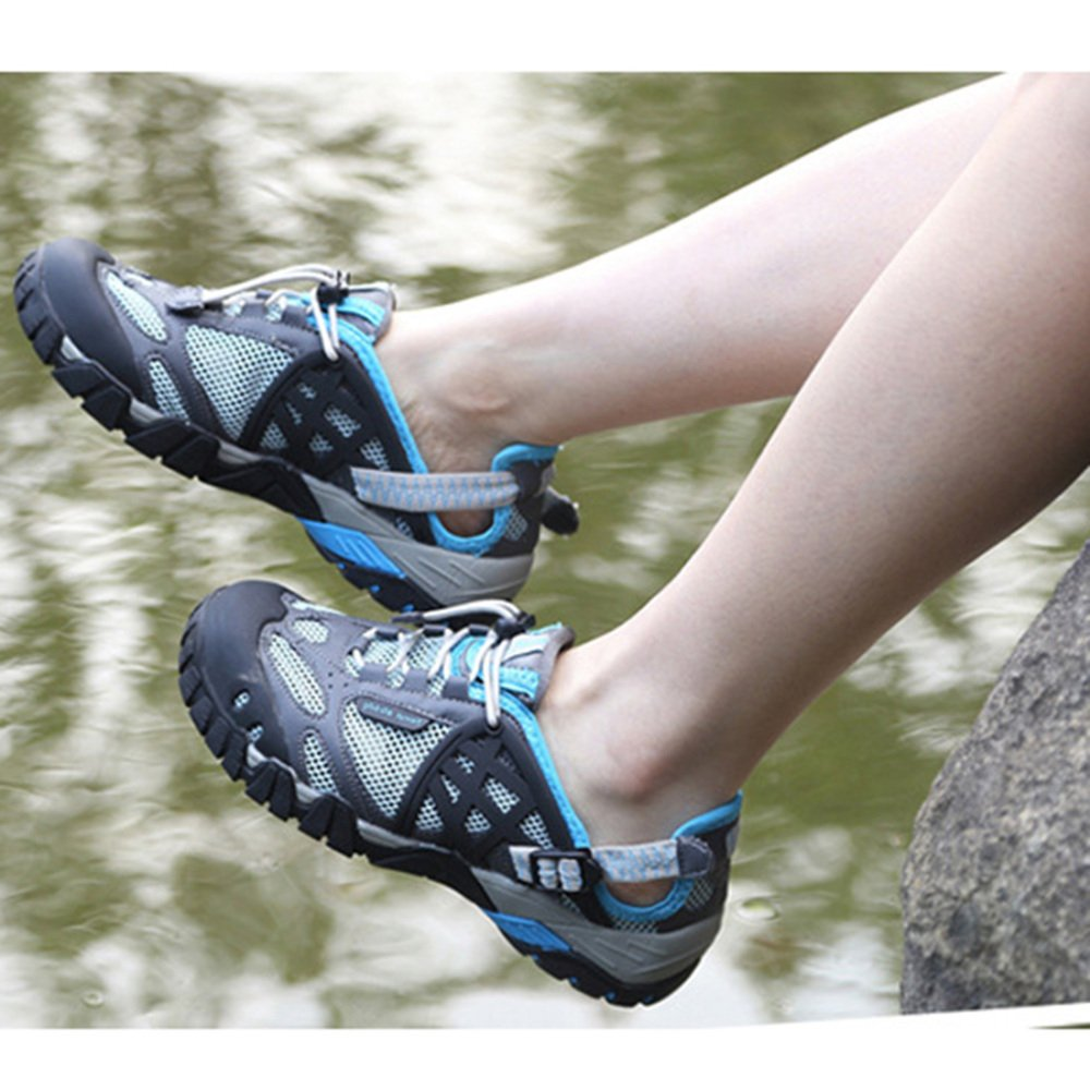 KUWOMINI Neutral Klettern Sandalen Wanderschuhe Outdoor Sports Amphibien Schuhe Leichte Leichte Leichte Fast Dry Schuhe B07CYYQGPW Kletterschuhe Moderne und elegante Mode 4a93ca