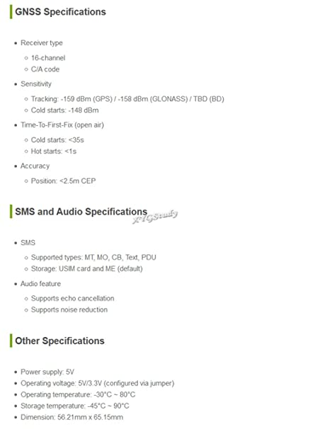 Amazon com: 4G 3G GNSS HAT Based on SIM7600A-H LTE CAT4