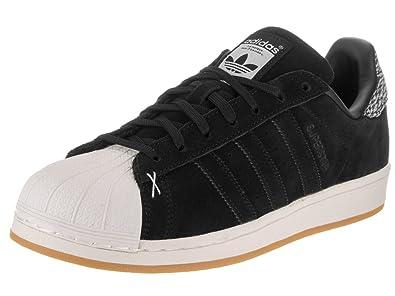 Schwarz Turnschuhe Herren Adidas 11 Superstar US iXOukTPZ