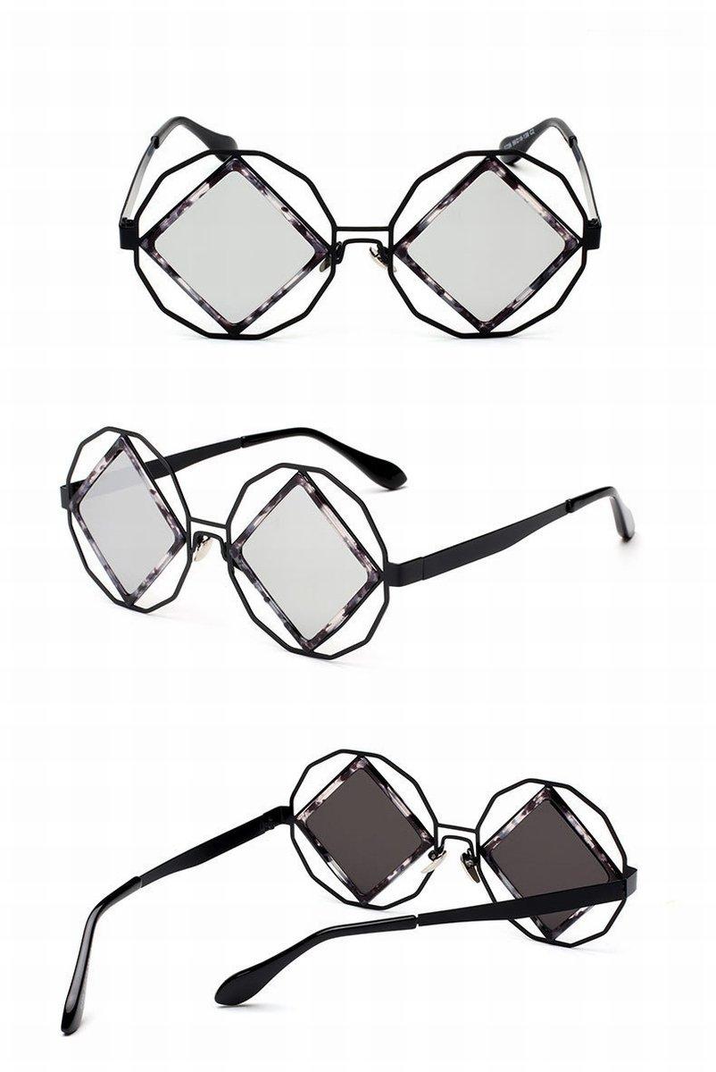 Wunderschöne Metall Sonnenbrille Damen Große Rahmen Sonnenbrille Kröte Spiegel Silberrahmen Luxusgold 50pNp