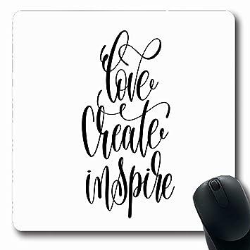Luancrop Alfombrillas Para Computadoras Amor Motivacional