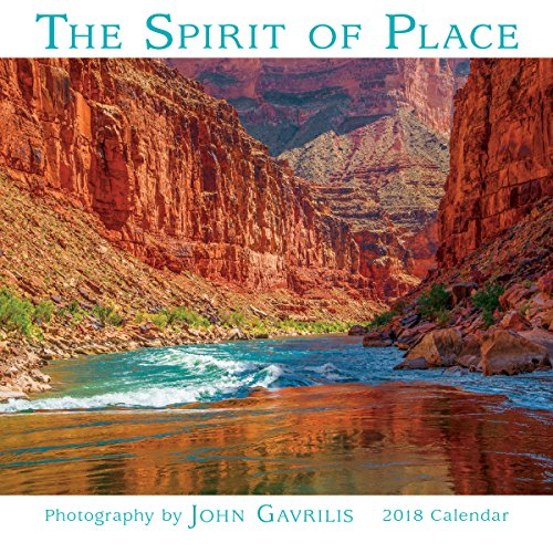 The Spirit Of Place - Photography By John Gavrilis 2018 Mini Calendar (CS0203)