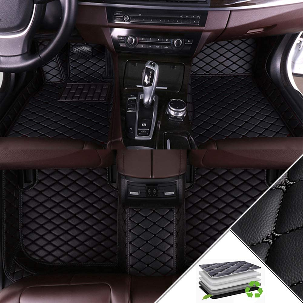Custom Car Floor Mats for Toyota Camry 2018-2019 All Weather Waterproof Non-Slip Full Covered Protection Advanced Performance Liners Car Liner Gray