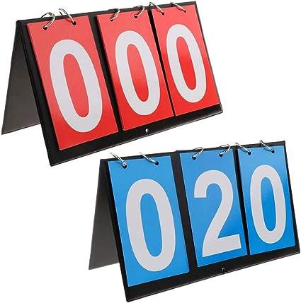Scoreboard Flipper Portable Multi Sports Volleyball Basketball Table 4 Digits