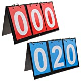 APORO 3 Digit Portable Table Top Scoreboard
