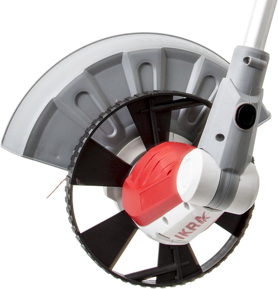 Circonferenza 32cm Altezza di Regolazione Taglio Verticale 600 W IKRA 11022300 tagliabordi Elettrico IGT 600 da 230 V