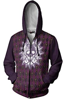 Vokaer JoJos Bizarre Adventure Hoodie Anime Thin Hoodies Casual ...