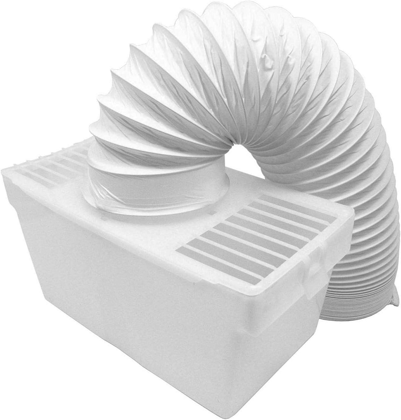 Find A - Manguera de ventilación de Condensador Universal de Repuesto para Secadora y Kit de Caja de 1,20 m