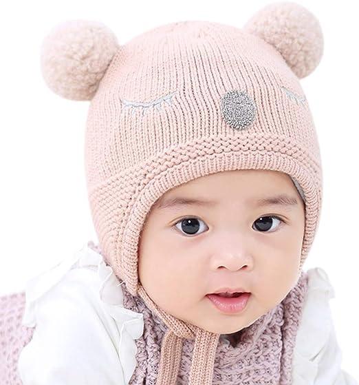 Wimagic - 1 Gorro de Lana para niños y niñas, cálido, de Invierno ...