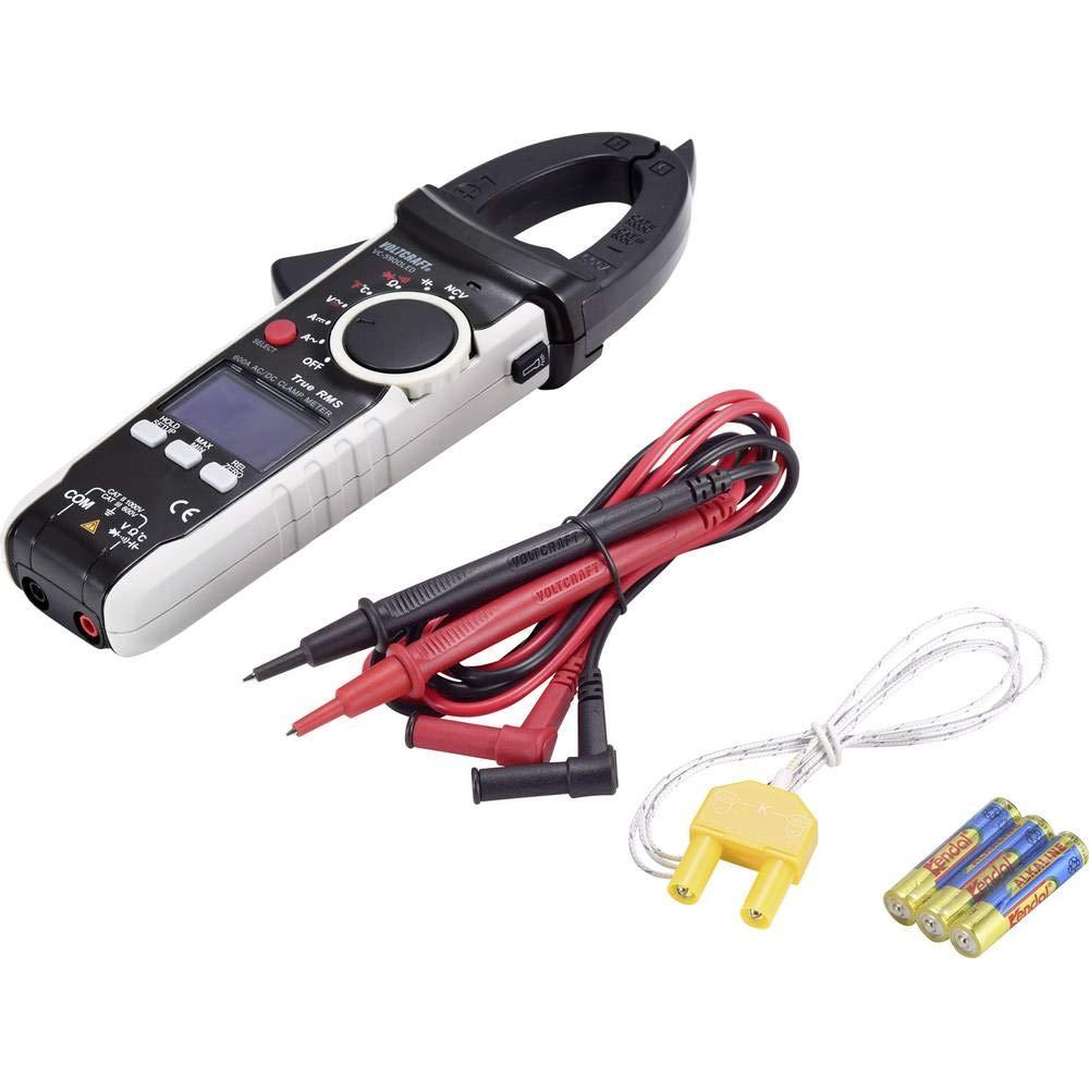 Voltcraft Vc 590oled Stromzange Digital Oled Display Cat Iii 600 V Cat Ii 1000 V Anzeige Counts 6000 Gewerbe Industrie Wissenschaft