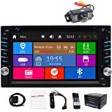 in-Dash Double 2 DIN Car Autoradio Stereo Headunit CD DVD Player 6.2inch Touch