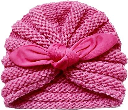 TwoCC-Sombrero de punto, sombrero de invierno para niños, orejas ...