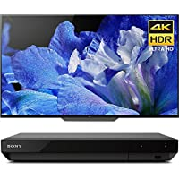 Sony Bravia XBR65A8F 65 4K HDR10 HLG Dolby Vision Triluminos OLED TV 3840x2160 & Sony UBPX700 Ultra HD BluRay Player with Dolby Vision