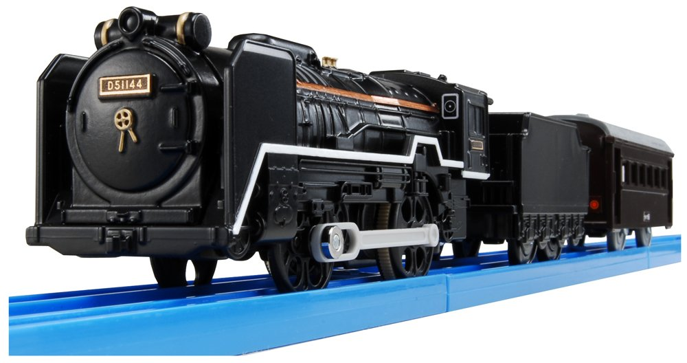 Or plastic rail with light rail D51 is set (japan import)