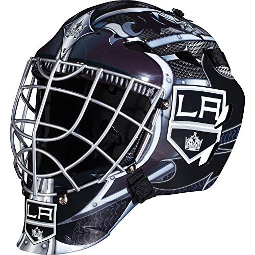 Franklin Sports Los Angeles Kings Goalie Mask - Team Graphic Goalie Face Mask - GFM1500 Only for Ball & Street - NHL Official Licensed -