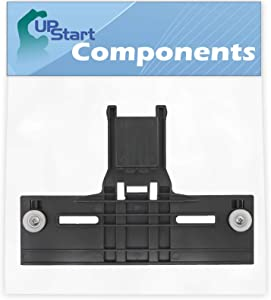 W10350376 Dishwasher Top Rack Adjuster Replacement for KitchenAid KUDS30IXBL4 Washer - Compatible with W10350376 Rack Adjuster Dishwasher Upper Top Adjuster with Wheels - UpStart Components Brand