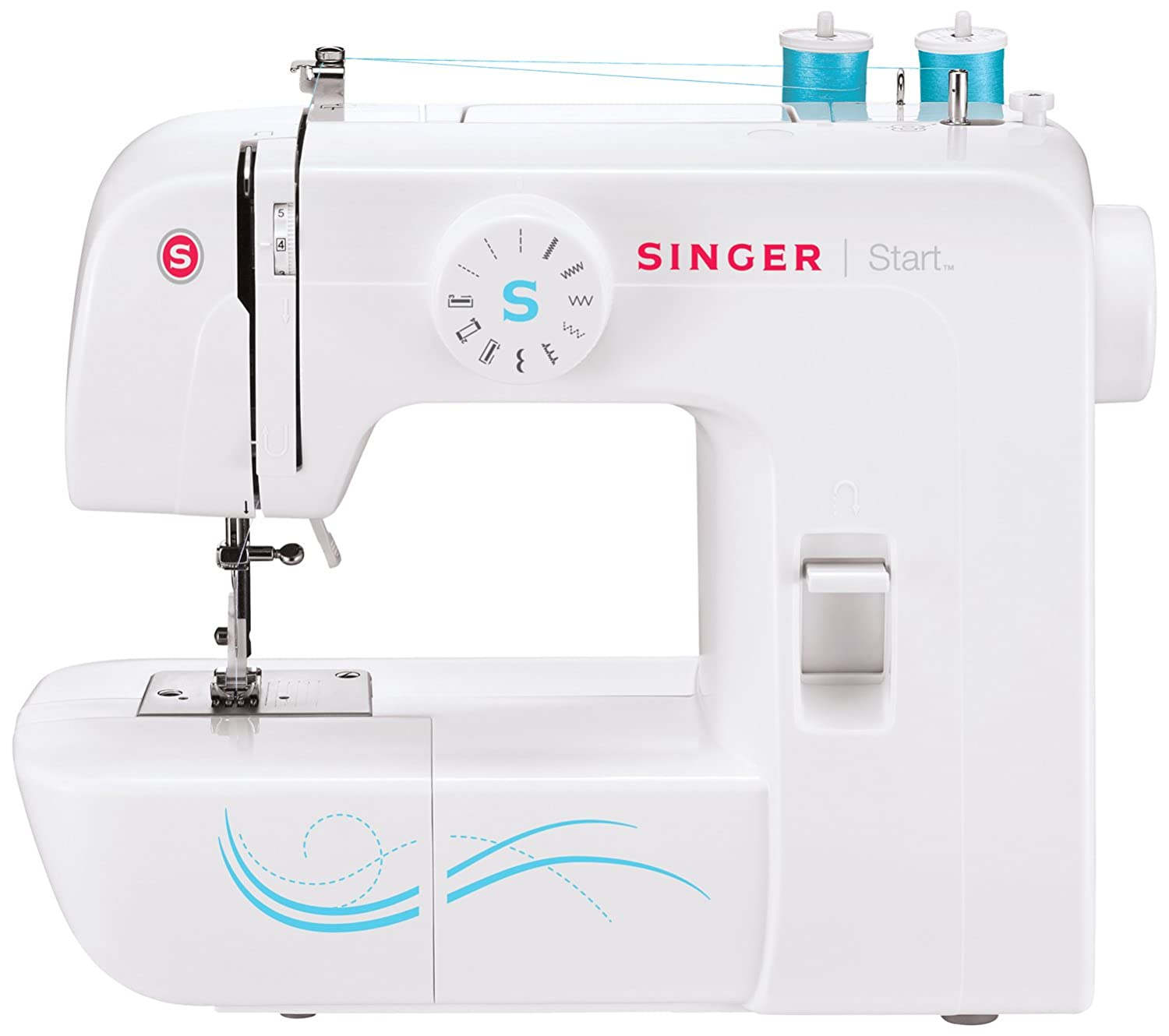 Singer 1304 Start Free ArmHandy Sewing Machine with 6 Built-In Stitches