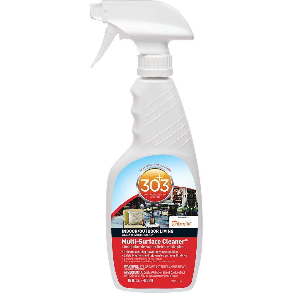 Amazon.com: 303 Multi Surface Cleaner Spray, All Purpose Cleaner For Home,  Patio And Outdoor, 16 Fl. Oz.: Automotive