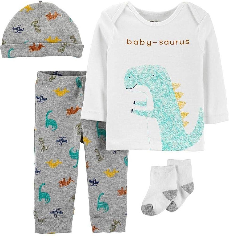Carter's 4-Piece Dinosaur Take-Me-Home Set