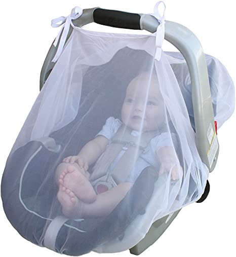 Free Shippin New Jolly Jumper Fitted Insect and Bug Netting for Infant Carrier