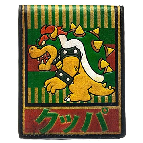 Nintendo Bowser Kanji Official New Bifold Wallet from Nintendo