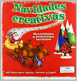 Navidades creativas (Spanish) Hardcover