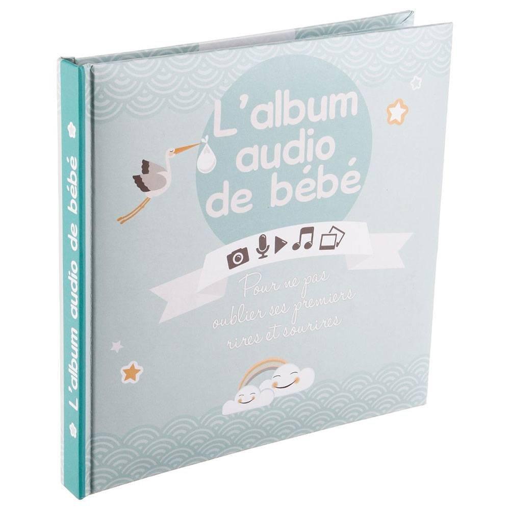 Livre Audio Bébé 16 pages garçon Atmosphera for Kids