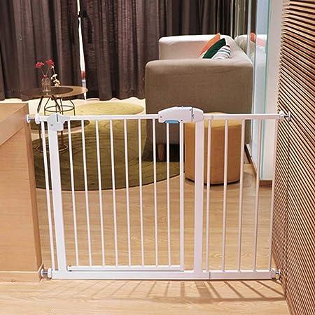 Puerta De Seguridad para Bebés De Cocina Extra Alta, Escaleras/Pasillos/ Puerta De Metal para Mascotas con Montaje A Presión, Alto 100 Cm (Size : 85-92cm): Amazon.es: Hogar