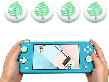 ELEWELT 4PCS Sweet Sakura Flower Thumb Grip Caps for Nintendo ...