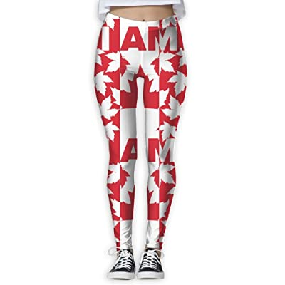 Fri Print Canada Beaver Compression Pants/Yoga Pants Leggings