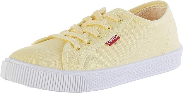 Levi's Malibu Beach S Sneakers Damen Pastellgelb