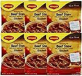 Maggi Goulash Beef Stew Seasoning Mix, 1.55 oz (Pack of 6)