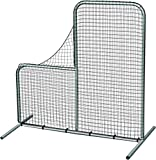 Pitcher's Safety L-Screen - 7'x7' w/ 40'' Drop