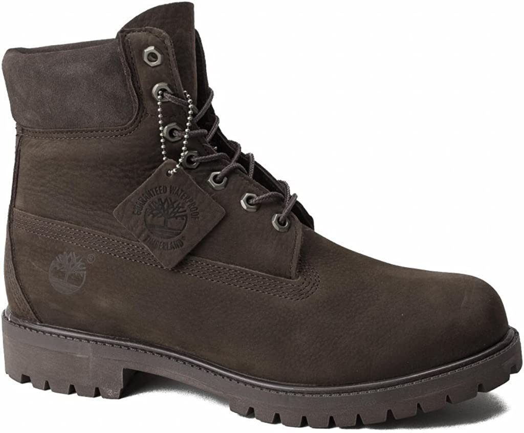 Timberland 6IN Premium BT Pure Dark Brown CA1M3V, Zapatos del Barco