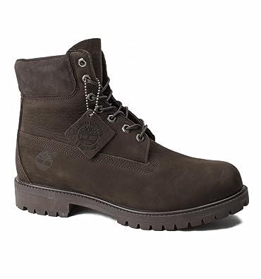 Timberland Men s 6 Inch Premium Waterproof Boots Brown  Amazon.co.uk ... 8435c36185a