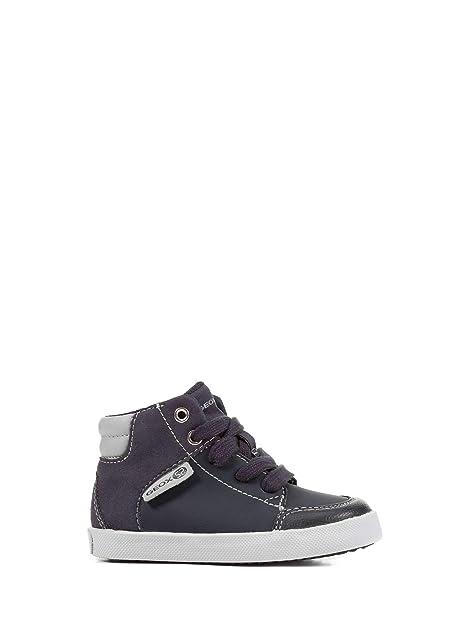 Collo Geox Sneakers Blu Scarpe Pelle B Gisli Alto A Baby B841na In E9WD2HeIY
