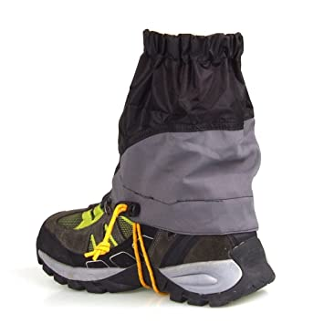 Snow Leg Gaiters, 1 Pair Unisex Leg Protection Guard Outdoor Durable Snow Proof Waterproof Ultra Light Gaiters Walking Gaiters Snow Legging Leg Cover