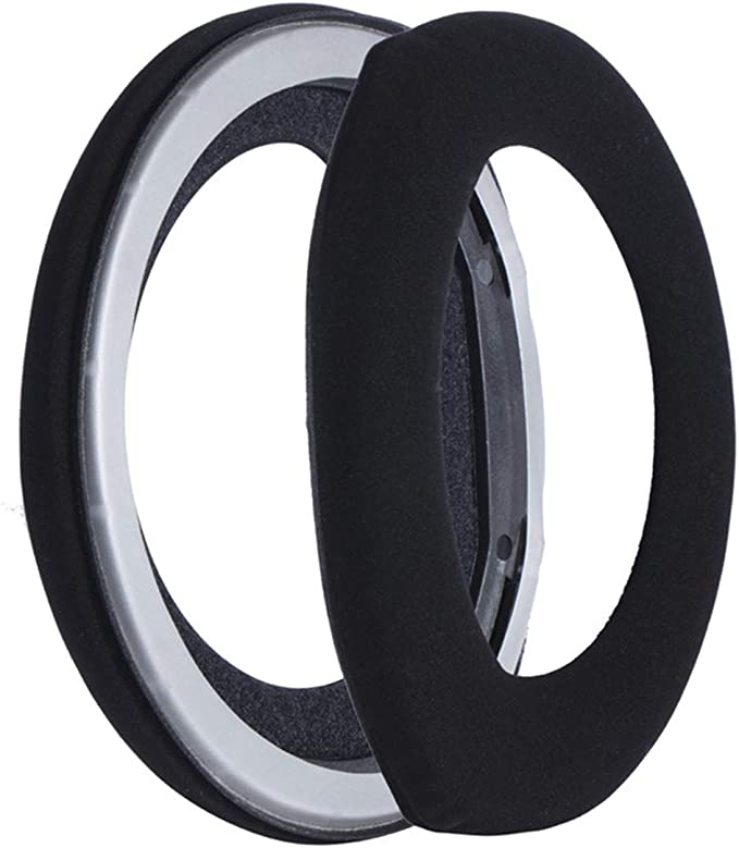 Gesongzhe Earpads for Sennheiser HD800 HD800s Over Ear Headphones HD800 Pads Headphone Covers Earpads Replacement Ear Pads Frosted Protein Leather with Prototype Plastic Part Black