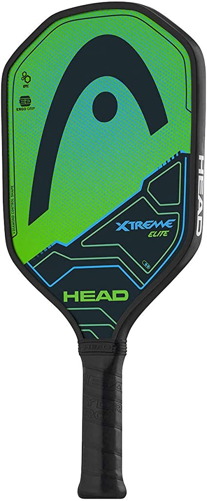 HEAD Fiberglass Pickleball Paddle - Extreme Elite Paddle w/ Honeycomb Polymer Core & Comfort Grip