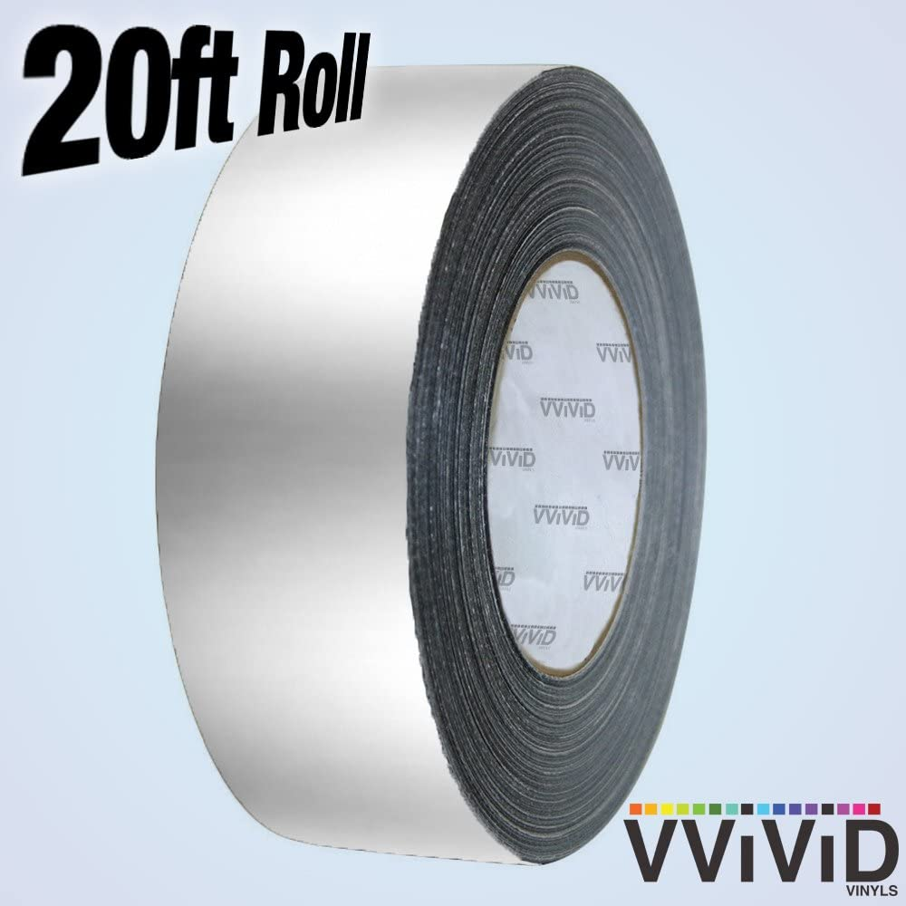 VViViD Vinyl Detailing Wrap Tape 2 Inch x 20ft DIY Roll Gold Chrome